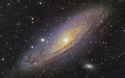 Andromeda, the autumn queen galaxy, M31