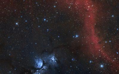 M78 nebula and Barnard's Loop