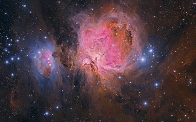 A dusty Orion Nebula