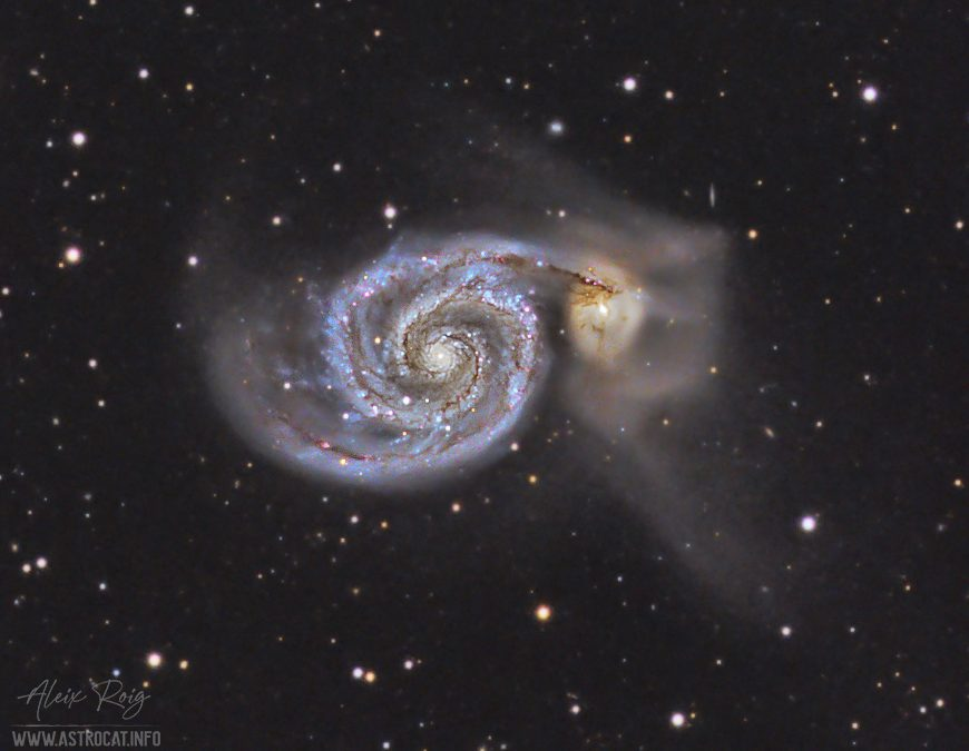 The Whirlpool Galaxy, M51
