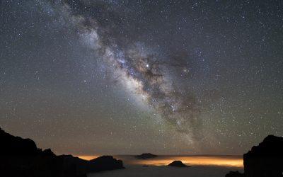 Milky Way over Caldera de Taburiente