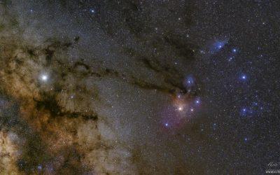 Rho Ophiuchi cloud complex, Milky Way