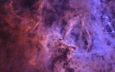 Sculpted by strong winds and radiation, NGC 2237