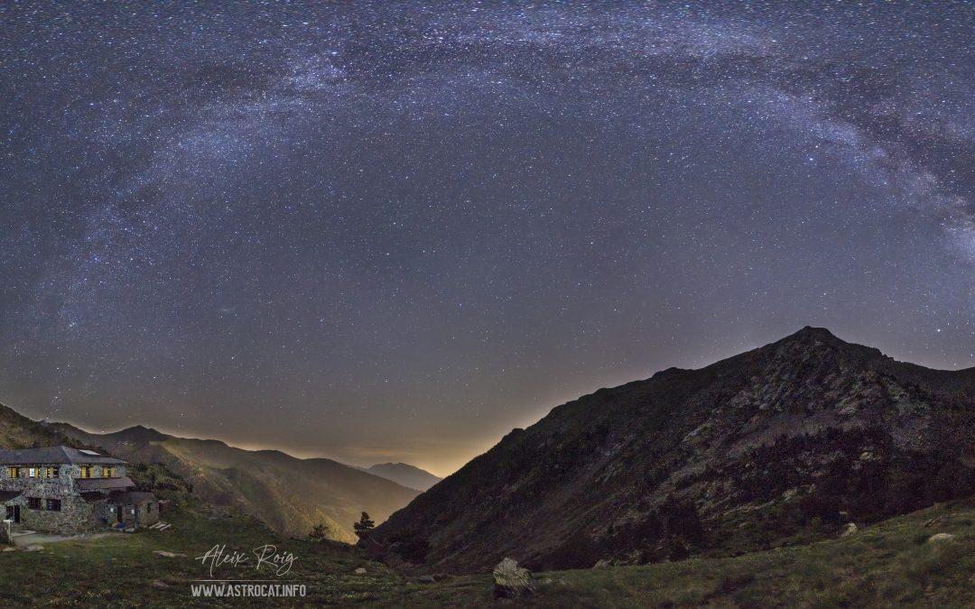 Milky Way over Comapedrosa, Andorra