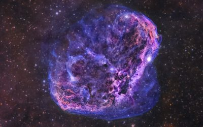 The Crescent Nebula, NGC 6888