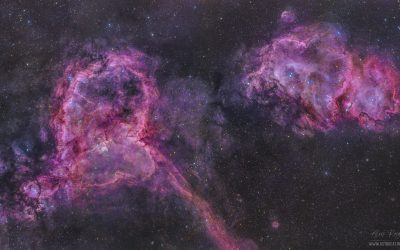 The Heart and Soul Nebulae