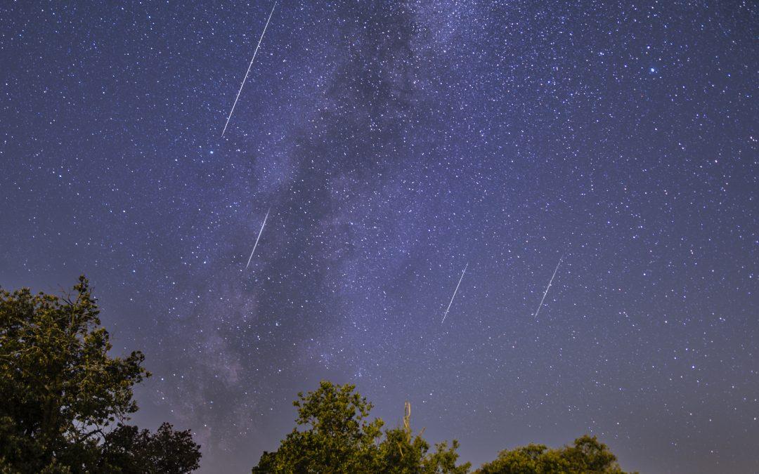 Perseid Meteor Shower peak