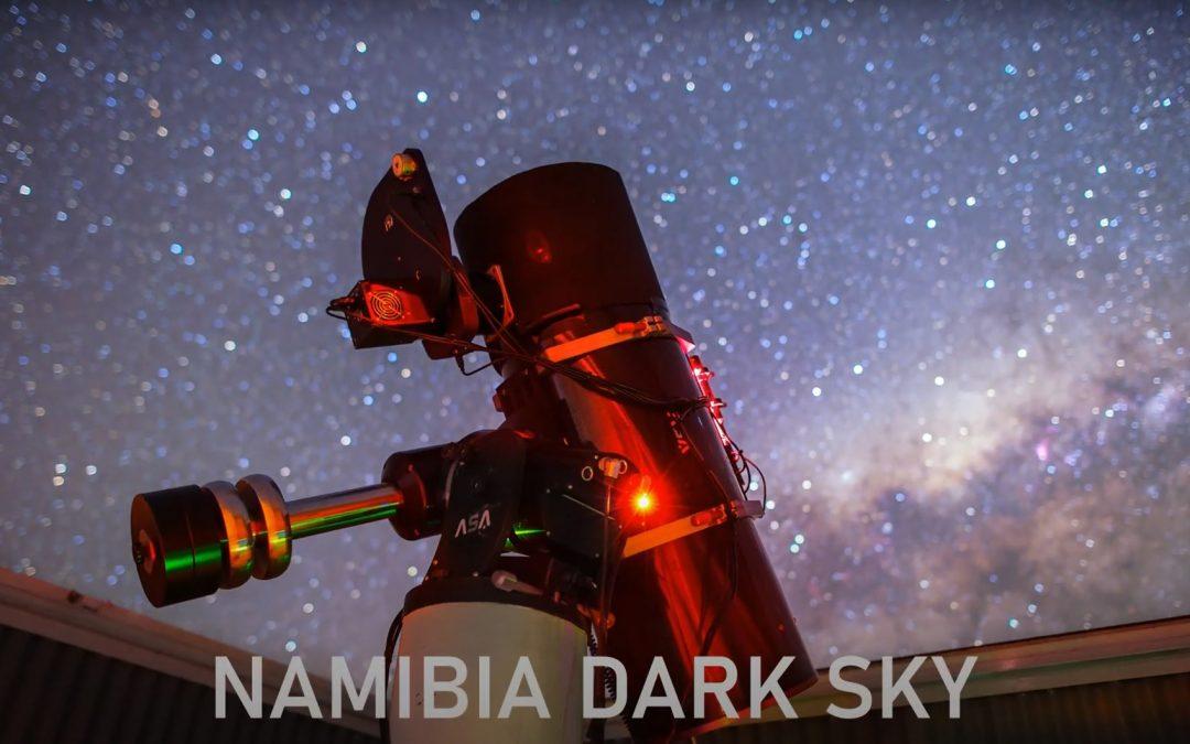 Namibia dark sky