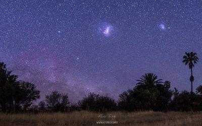 Namibian southern night sky